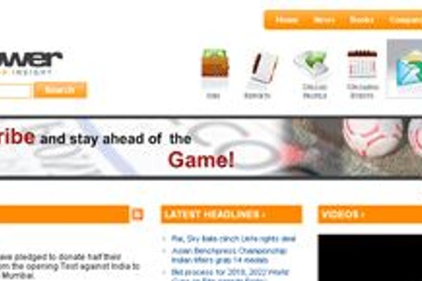 B2B portal, sportzpower.com, launched