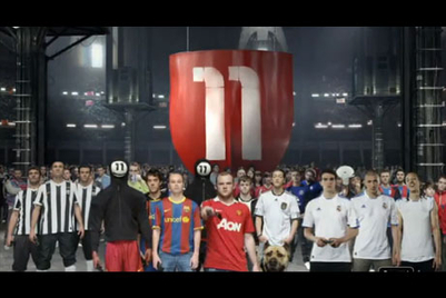 Weekend fun: Wieden+Kennedy creates FIFA 11 TVC