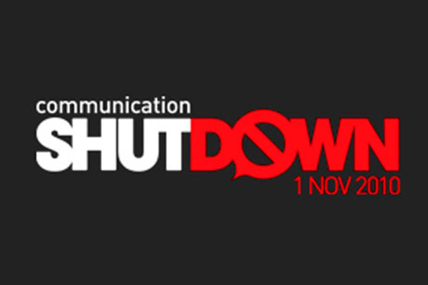 Communication Shutdown initiative slated for November 1