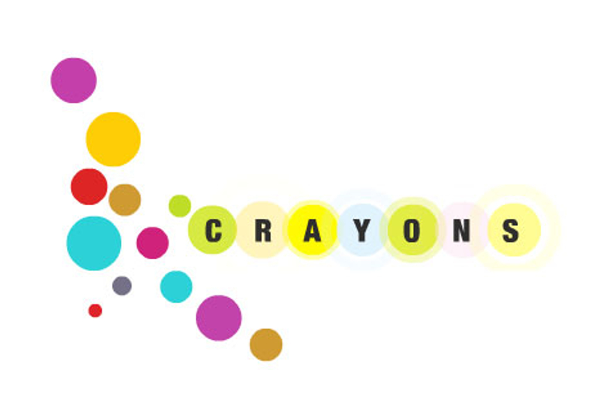 Crayons creates 3D ad in print