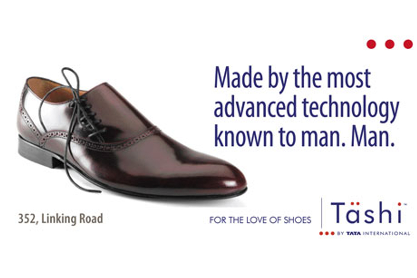 Tashi launched 'for the love of shoes'