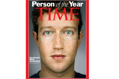 Zuckerberg named Time's Person of 2010