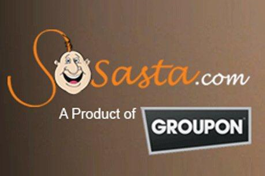 Groupon acquires SoSasta.com