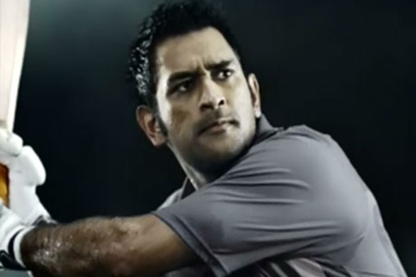 MS Dhoni pitches Sony Bravia's crystal clear quality
