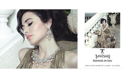 Tanishq goes retro in new 'Diamonds of Class' still campaign