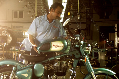 "W+K Delhi weaves ""handcrafted magic"" for new Royal Enfield film"