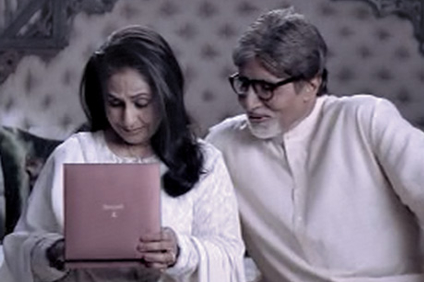 Amitabh and Jaya Bachchan feature in Tanishq's latest TVC