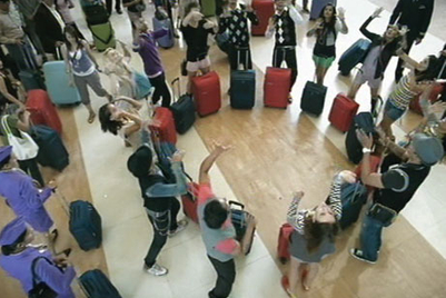 VIP gets travellers to groove with their luggage for new campaign