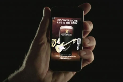 MMGB: Guinness' first Apple iAd
