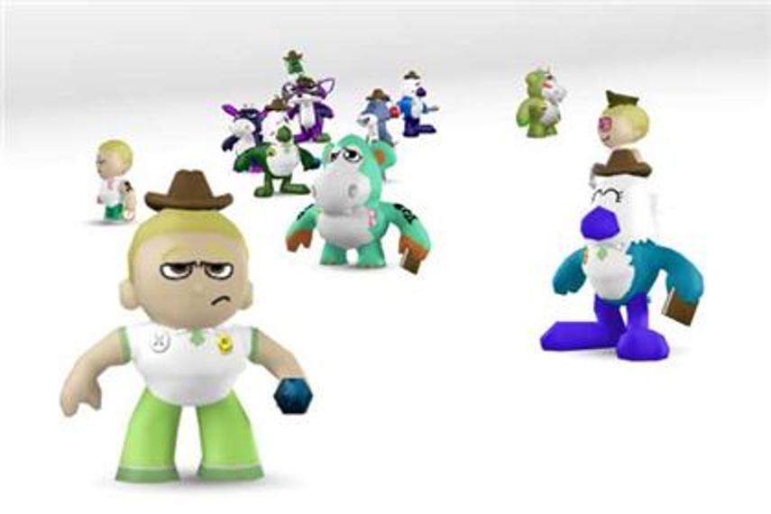 JWT animates 3,000 brands as virtual toys