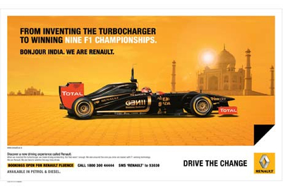 Law & Kenneth creates Renault India's first brand campaign