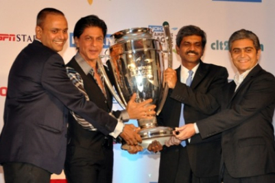 Shahrukh Khan is the face of Champions League T20