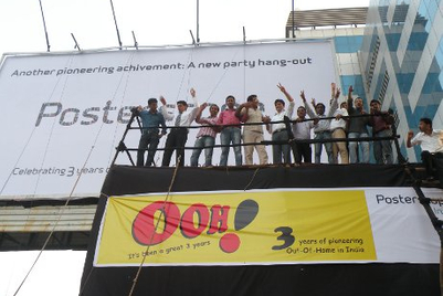 Posterscope celebrates its third anniversary