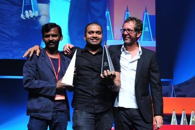 Creativeland Asia wins big at Spikes Asia 2011