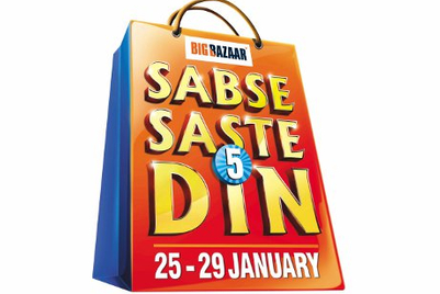 Future Media partners with three banks for Big Bazaar's Sabse Saste 5 Din