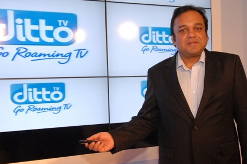 Zee's Punit Goenka at the launch of Ditto TV