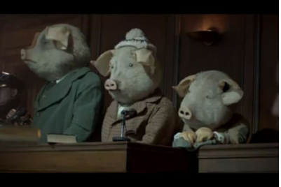 Holiday catchup: The Guardian 'Three Little Pigs' TVC