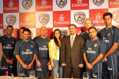 Emirates to sponsor Deccan Chargers