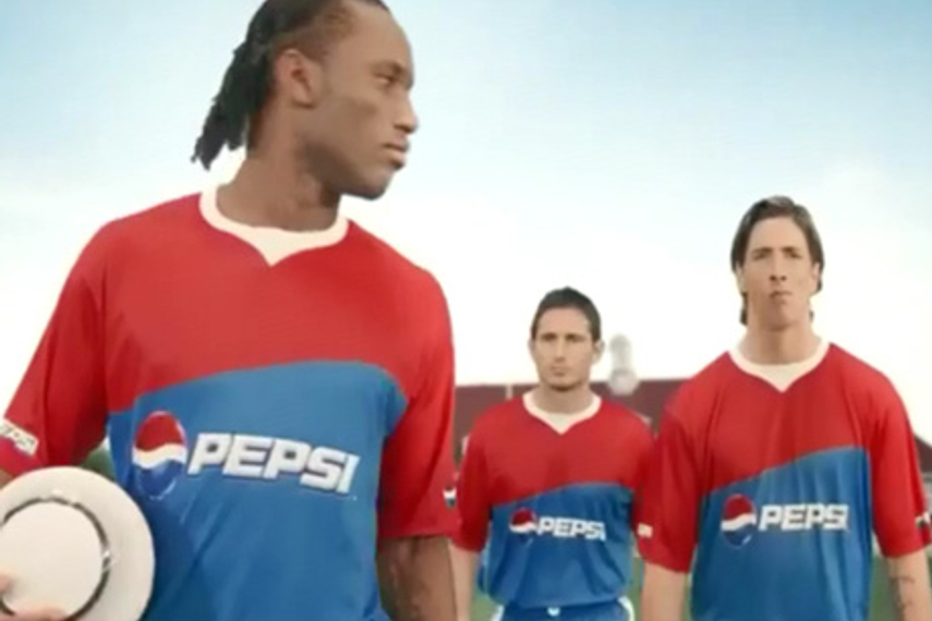 Raahil's blog: Pepsi 'changes the game' with bet on Chelsea trio
