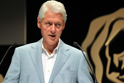 Cannes 2012: Why President Clinton thinks advertising can build a better world