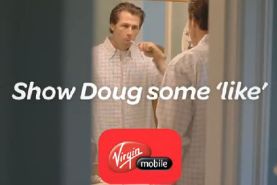 Weekend Fun: Virgin Mobile's viral with Brad Pitt's bro