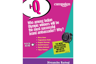 Who among Indian Olympic winners will be the most successful brand ambassador? Why?