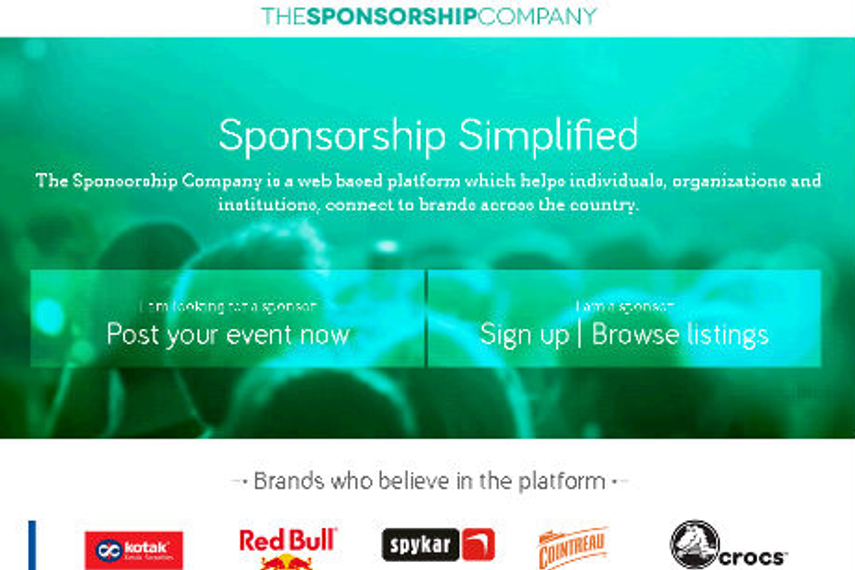 The Sponsorship Company launches; aims to connect event sponsorship seekers with brands