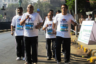 MMGB: Fevicol glues runners to the ground at Standard Chartered Mumbai Marathon