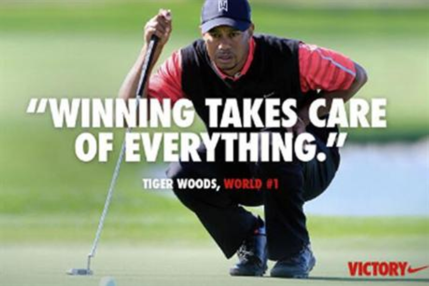 Facebook critics slam Nike's Tiger Woods ad