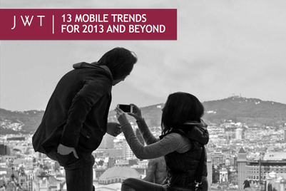 Living with a predictive genie: JWT mobile trends for 2013