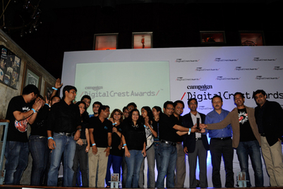 Campaign India Digital Crest Awards: IBS is Agency of the Year 2013