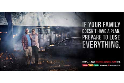 Ad pic of the week: NSW Rural Fire Services