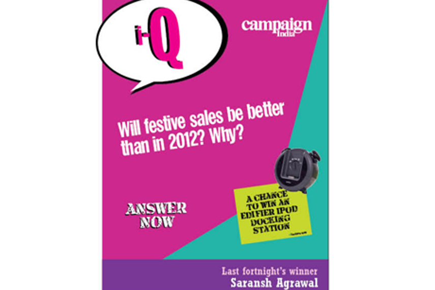 Will festive sales be better than in 2012? Why?