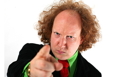Weekend Fun (1): Andy Zaltzman's stand up comedy