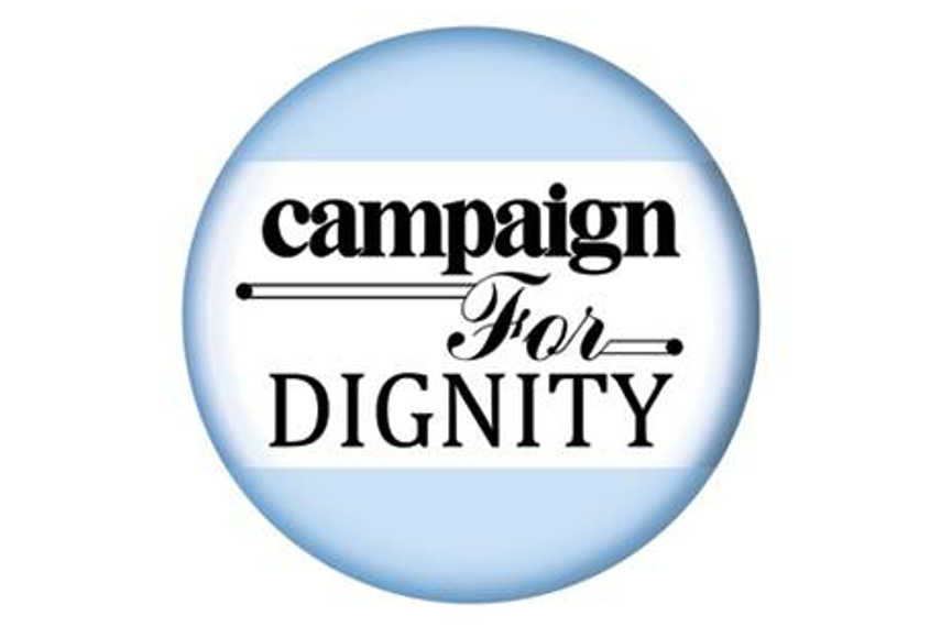 Campaign for Dignity: And the shortlists are...