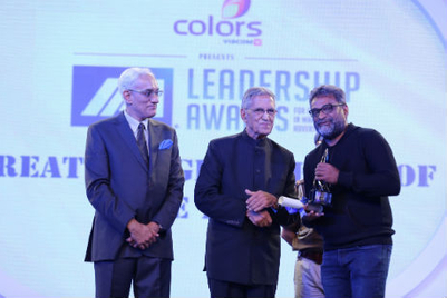 Lowe's R Balki and IPG's Shashi Sinha win top agency honours at IAA Leadership Awards 2014