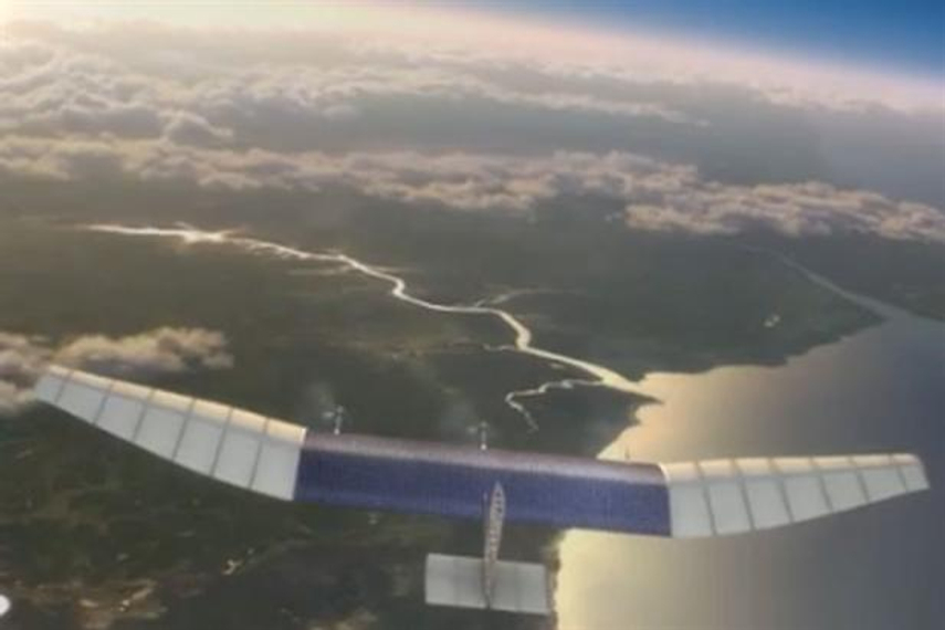 Facebook buys UK-based drone company to 'beam internet from the sky'