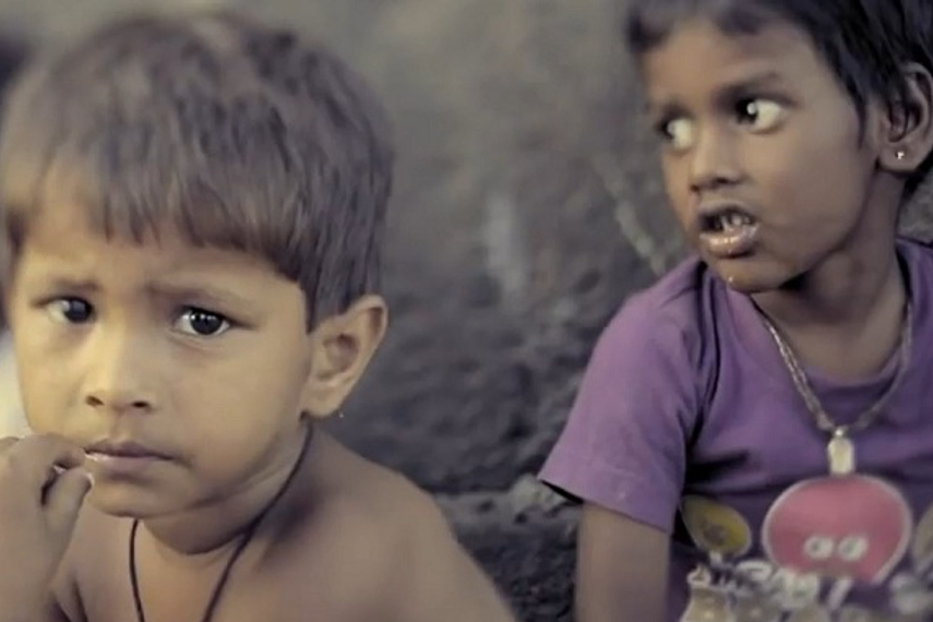 A screen grab from the 'Share my dabba' case film
