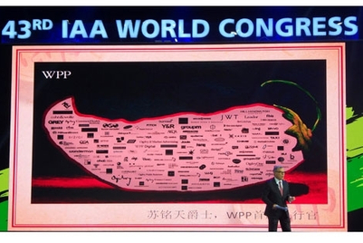 IAA World Congress: Sorrell talks POG, China and disintermediation