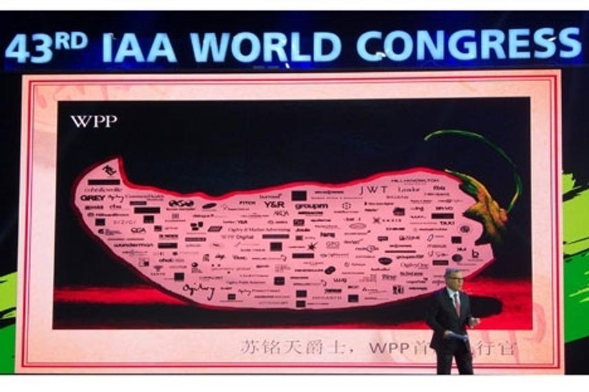 IAA World Congress: Sorrell talks POG, China and disintermediation