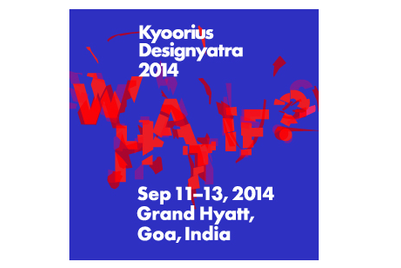 Kyoorius Designyatra adopts 'What if' theme for 2014 edition
