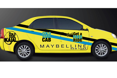 Maybelline launches 'Colossal Cabs', offers 'glam' rides