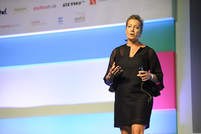"""Spikes Asia 2014: """"Be unpredictable. Chase opportunities, accept vulnerabilities"""" - Y&R's Sandy Thompson"""