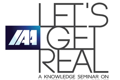 IAA launches 'Let's Get Real' seminar on marketing of real estate