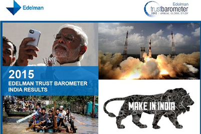 Edelman Trust Barometer 2015: Trust in businesses, government and media rises in India