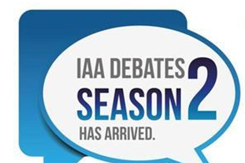 IAA Debates second season's debate on February 16