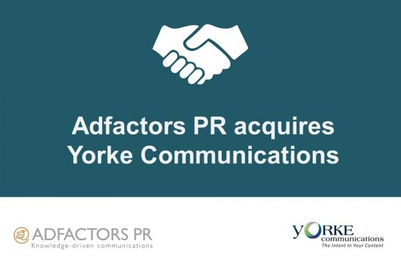 Adfactors PR acquires stake in Yorke Communications