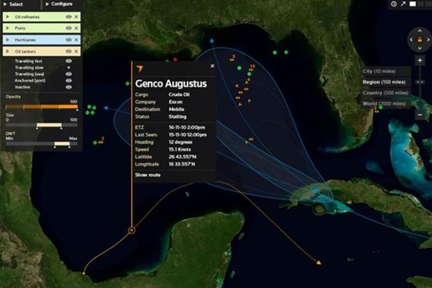 Analytics can help predict hurricanes and oil price fluctuations.