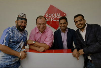 Pratap Bose and Mandeep Malhotra announce launch of 'The Social Street'