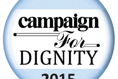 Campaign for Dignity 2015: Final entry deadline is 3 September
